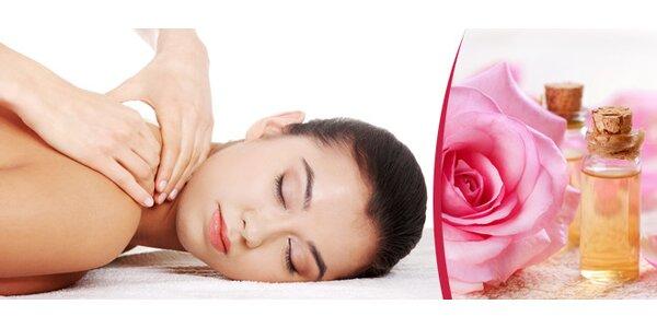 Poctivá 90minutová masáž šíje, zad a dolních končetin