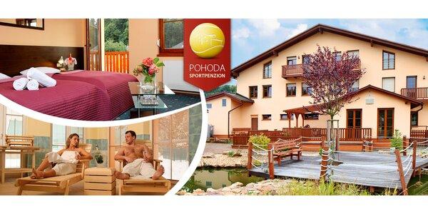 Pobyty s polopenzí i wellness ve Sportpenzionu Pohoda