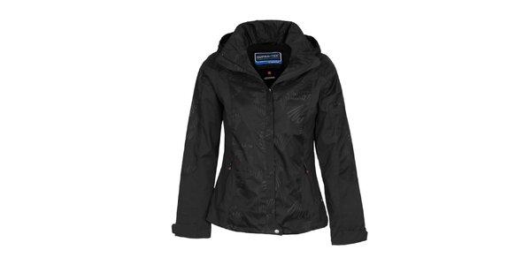 Dámská černá bunda s potiskem Bergson