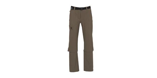 Dámské funkční kalhoty se zipy na nohavicích Bergson