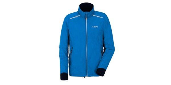 Pánská modrá sportovní bunda Maier