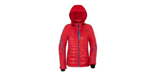 Dámská červená bunda s prošíváním Maier