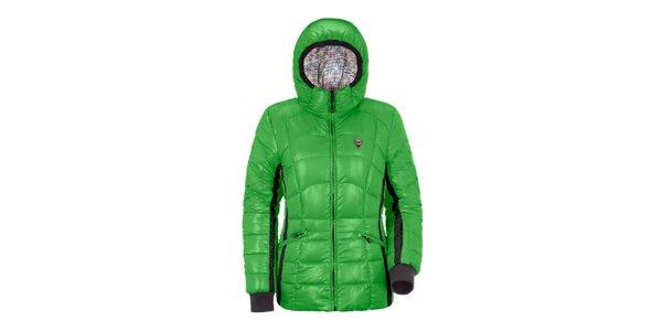 Dámská zelená péřová bunda Maier