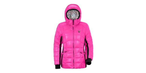 Dámská růžová péřová bunda Maier