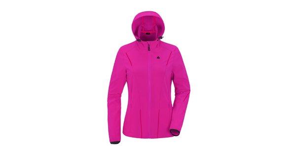 Dámská růžová softshellová bunda s kapucí Maier