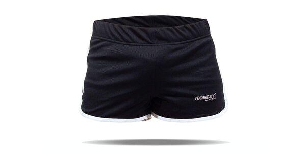 Černé běžecké šortky Mosmann Sport