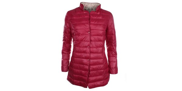 Dámský vínový kabátek na druky DJ85°C