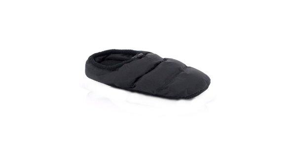 Černé domácí pantofle Kimberfeel