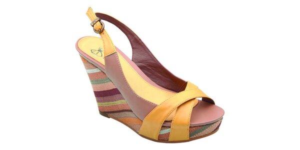 Dámské barevné sandálky v Elisabeth