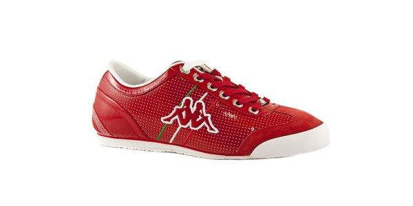 Červené tenisky Kappa Rimini Italia 2 MP