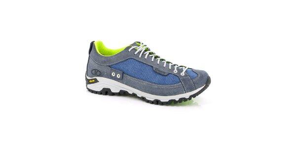Unisex modro-neonové sportovní boty Kimberfeel