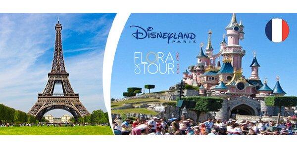 Výlet do Paříže za nákupy nebo do Disneylandu