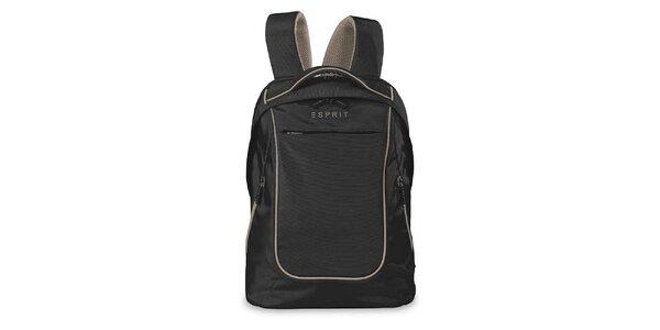 Černý lehký batoh Esprit
