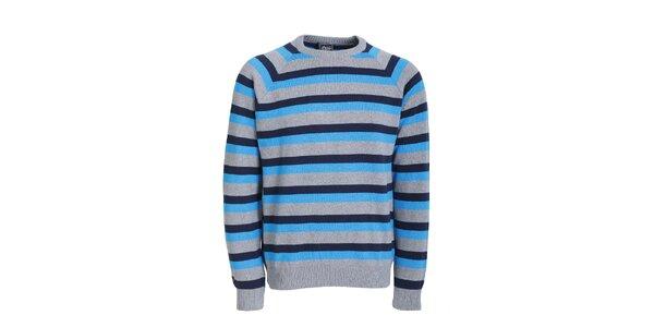 Pánský modře pruhovaný svetr Chico