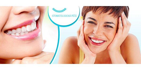 Dentální hygiena včetně fluoridace