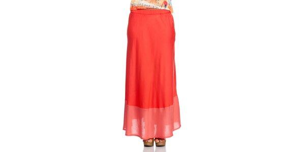 Dámská červená sukně Janis