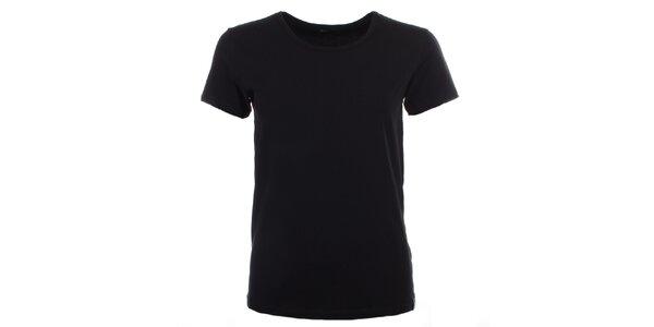 Dámské černé tričko s krátkým rukávem Big Star
