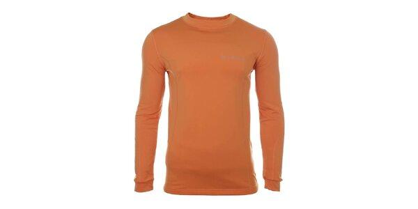 Pánské oranžové funkční triko Trimm