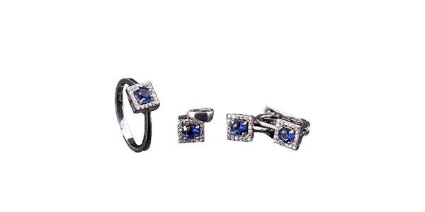 Dámská sada hranatých šperků Afrodite