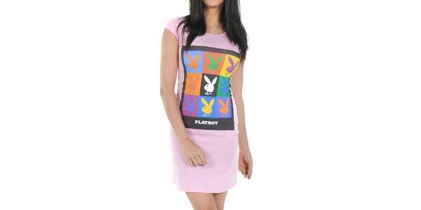 db9576db5d Dámská noční košile Playboy - růžová