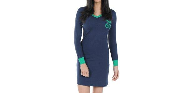 1f0770f16e Dámská tmavě modrá noční košile Playboy