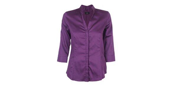 659e9267a19 Dámská fialová košile Pietro Filipi