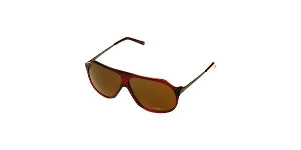 Dámské temně červené sluneční brýle Axcent