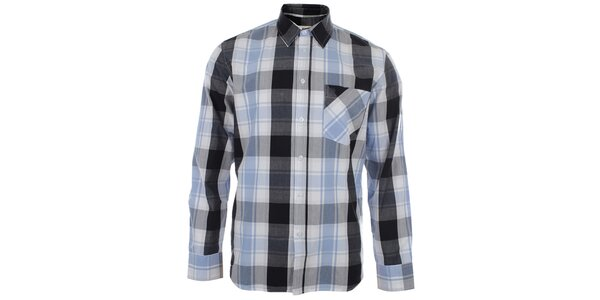 Pánská kostkovaná košile s dlouhým rukávem Big Star