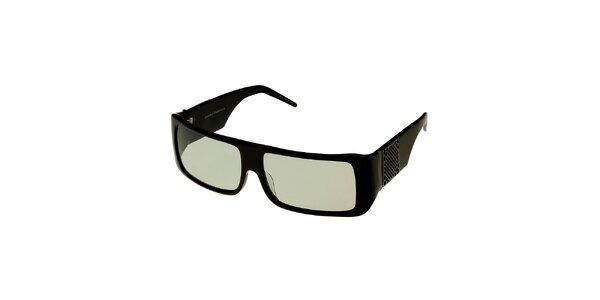 Dámské černé sluneční brýle Axcent