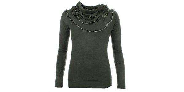 Dámský khaki top Dislay DY Design