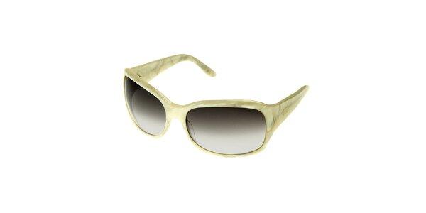 Dámské bílé mramorované brýle Axcent