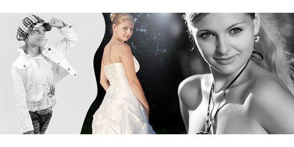 Focení v ateliéru, venku nebo na vaší svatbě!