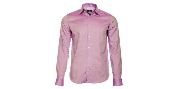 Pánská světle fialová košile Roberto Verino