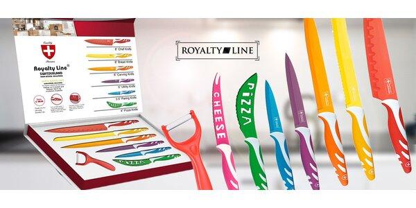 8dílná sada nožů a škrabky Royalty Line