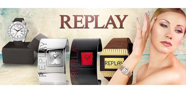 Nejlepší výběr ze značkových hodinek Replay
