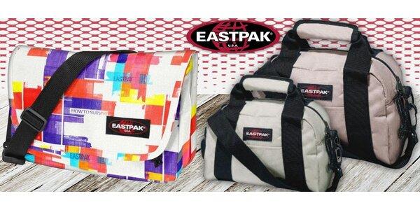 Značkové tašky Eastpak na cesty i nákupy