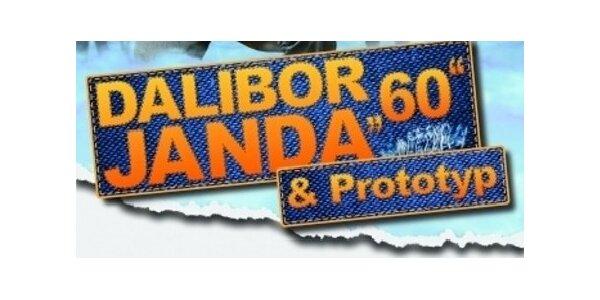 Koncert Dalibora Jandy a skupiny Prototyp ve Zlíně, 9.dubna od 19:00hod.