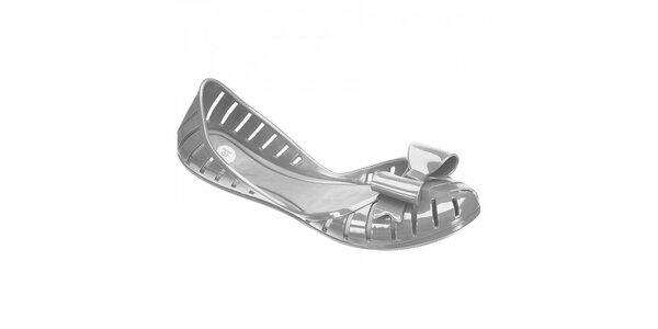Stříbrné balerínky Mel