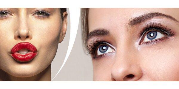 Permanentní make-up rtů a obočí v salonu Irenstar