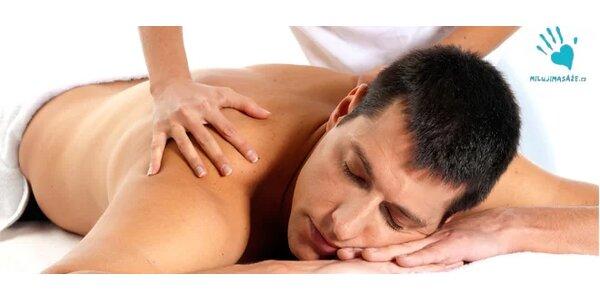 Hluboce uvolňující masáž proti bolesti zad, ramen, beder