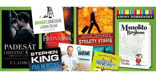 25 % sleva na nákup v knihkupectví Knihy Dobrovský