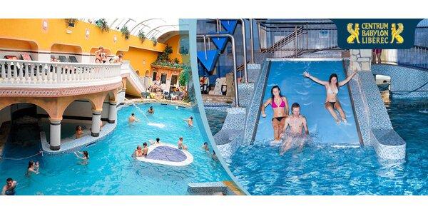 Celodenní vstupné do Aquaparku Babylon!