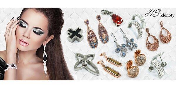Sleva až 70% na nákup šperků ze stříbra a chirurgické oceli