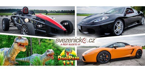 Jízda ve Ferrari, Lamborghini, Ariel Atom aj.