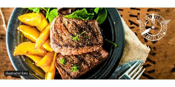 Bašta protinožců – pštrosí steaky s přílohou