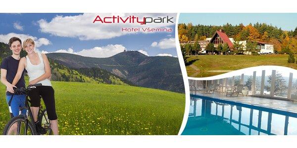 3denní pobyt pro dva v Activitypark Hotelu Všemina
