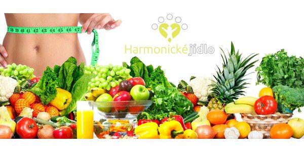 5 jídel denně v Harmonických krabičkách (5 či 10 dní)