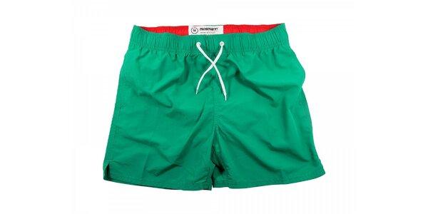 Zelené pánské plavky Mosmann