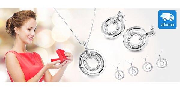 Šperky s jiskřivými krystaly Swarovski Elements