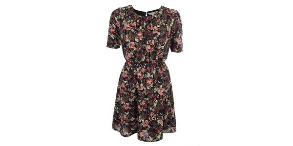 Dámské květované šaty Yumi